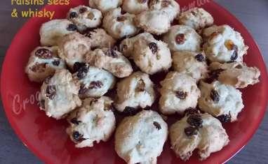 Biscuits aux raisins secs et whisky