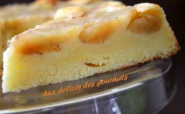 gâteau moelleux aux pommes et au yaourt