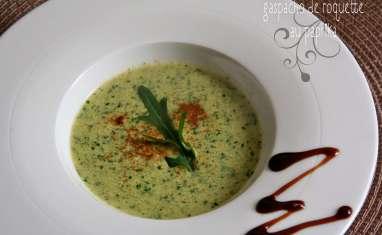 Gaspacho de Roquette au Paprika