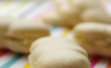 Macarons au chèvre et huile d'olive