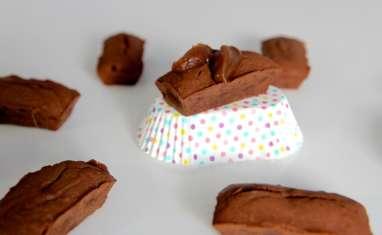 Fondant chocolat et crème de marron