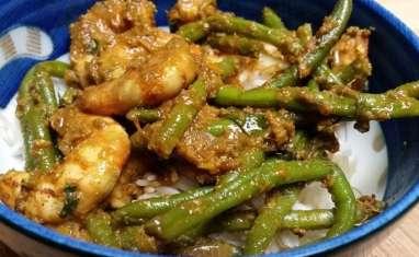 Crevettes sautées façon Extrême-Orient