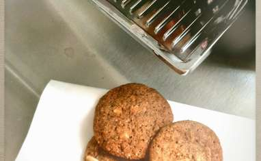 Cookies amande, cannelle et miel