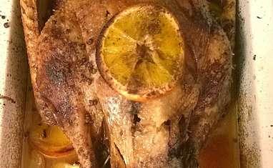 Oie rôtie à l'orange et aux 4 épices