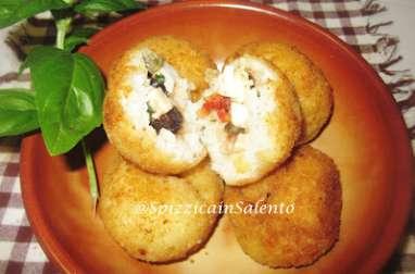 Les arancini ou beignets à la sicilienne