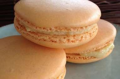 Les macarons à la crème d'amandes