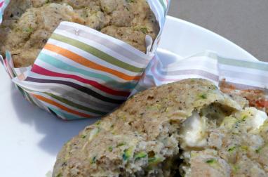 Muffins sarrasin-courgette-féta