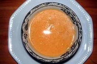 Crème de potiron marinière
