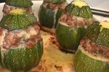 Courgettes ou poivrons farcis