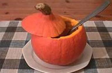 Crème de potiron maraîchère