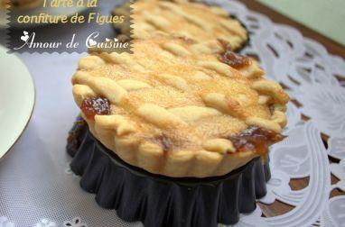 tarte a la confiture de figues