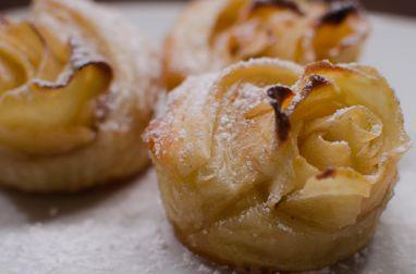 Spirales feuilletées aux pommes et au miel