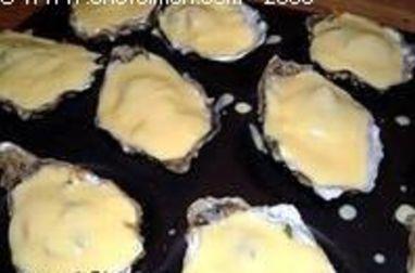 Huîtres au sabayon (huîtres chaudes)