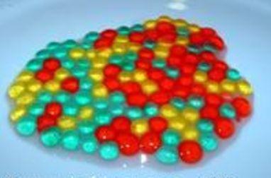 Perles d'alginates