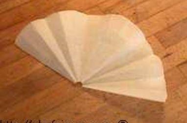 Disque en papier sulfurisé