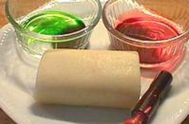 Colorer la pâte d'amande