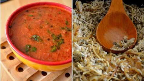 Kosheri (riz et lentilles) de Yotam Ottolenghi et sa sauce tomate
