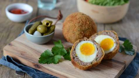 Oeufs écossais, scotch eggs
