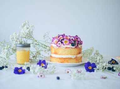 Gâteau au citron façon Victoria sponge cake