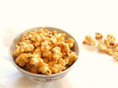 Pop corn maison au caramel beurre salé