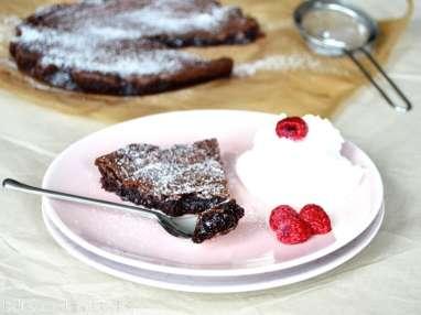 Gâteau au chocolat suédois « Kladdkaka »