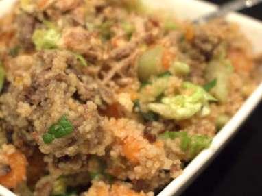 Salade de semoule... à la Vietnamienne !