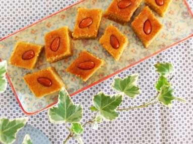 Namouras libanais à la fleur d'oranger