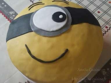 Le gâteau Minion