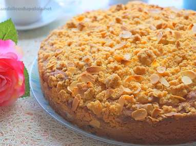 Gâteau façon crumble aux myrtilles