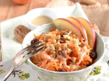 Salade de pomme et carotte