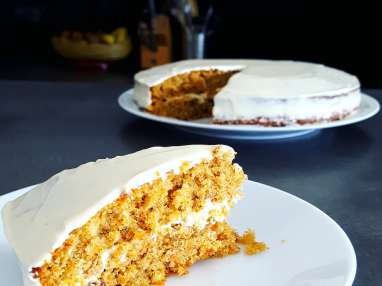 Carrot cake très gourmand à ma façon
