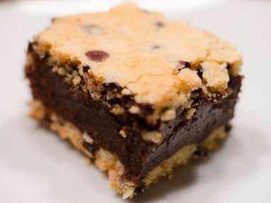 Cookie, coeur fondant au chocolat