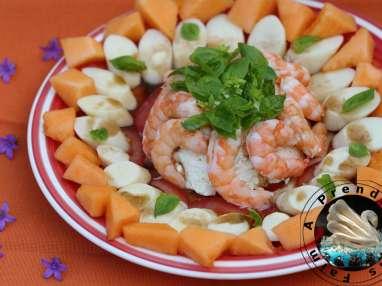 Salade fraîche brésilienne