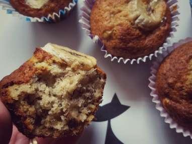 Muffins légers aux bananes