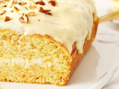 Carrot Cake au thé
