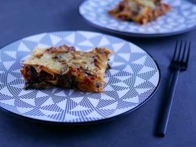 Veggies lasagnes aux blettes comme une bolognaise