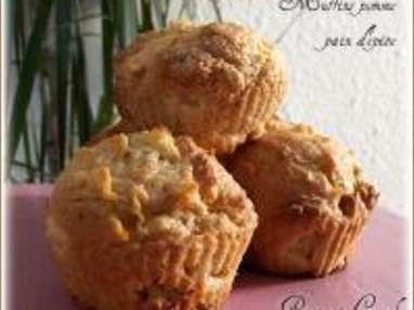 Muffins à la Pomme aux Arômes de Pain d'Épice