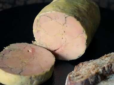 Ballotine de foie gras pochée