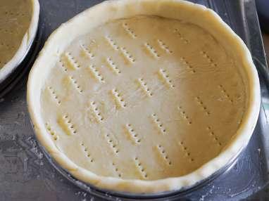 Cuire à blanc un fond de tarte