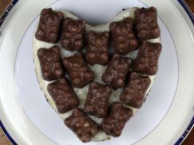 Entremet mousse de poire et chocolat