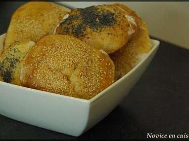Petits pains au pavot et au sésame