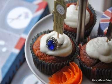 Petits carrot cakes