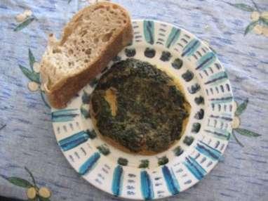 Omelette médiévale aux herbes et au poivre