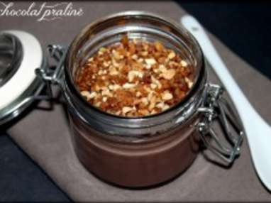 Crème chocolat praliné