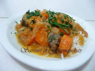Bœuf aux carottes et aux Oranges