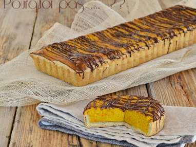Tarte potimarron - épices