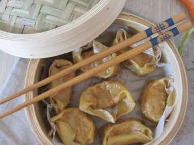 Raviolis chinois au poulet