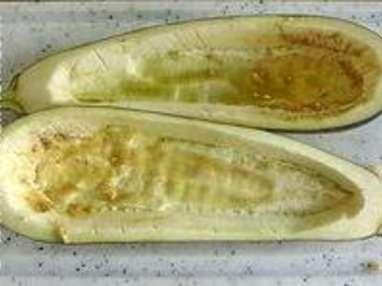 Aubergines gratinées - Etape 6