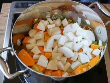 Crème de potiron maraîchère - Etape 7