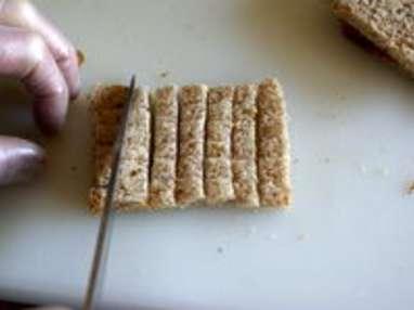 Croûtons frits - Etape 2